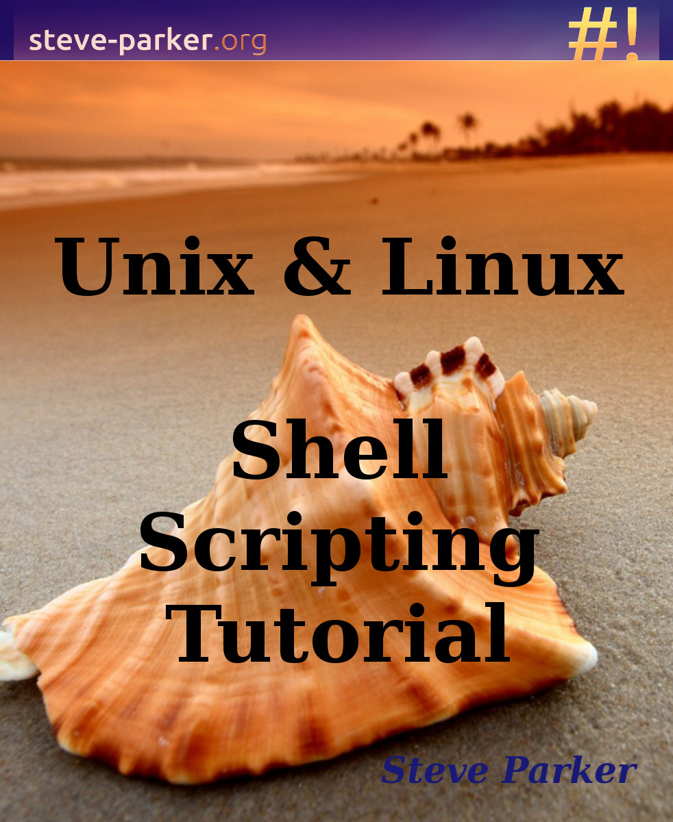 shell scripting tutorial on kindle | *nix shell